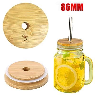Wooden Reusable Rust Resistant Mason Jar Replac...