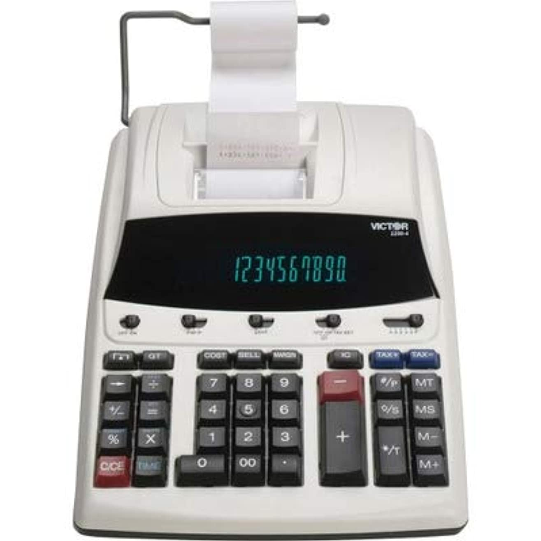 適合しました幸運過言vct12304?–?1230?–?4蛍光表示印刷電卓