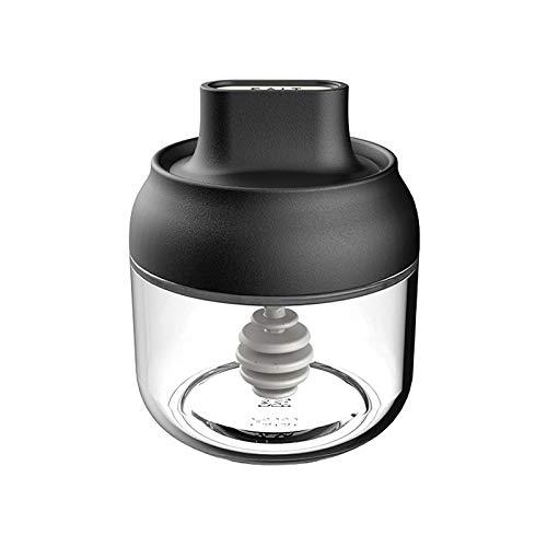 ZHDIN Caja de Especias Resistente a la Humedad Combinación de Vidrio para el hogar Botella de Especias de Vidrio Salero de Vidrio Almacenamiento de Cocina Azúcar Glutamato monosódico