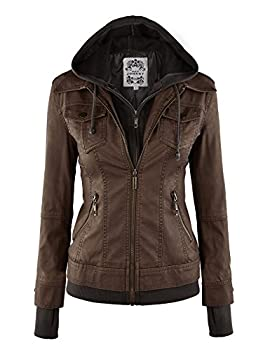 Best leather hooded jacket women Reviews