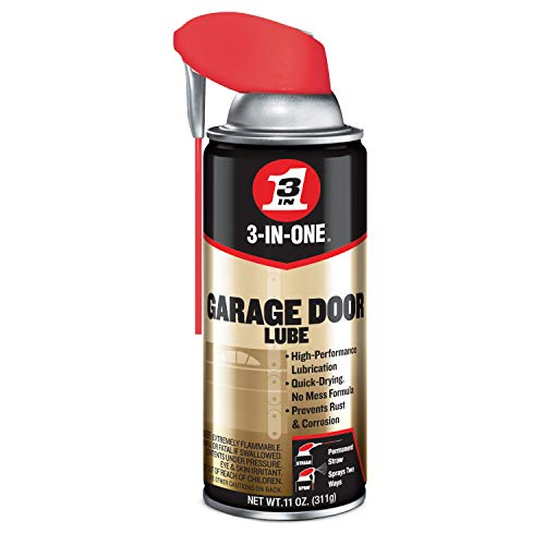 WD40 100581 3 In 1 Dry Garage Door Lube Spray - 11 oz.