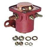 SHIYM-JI, Nuevo 4-Pin 12V solenoide del arrancador relé SW3 B6AZ-11450-A en Forma for Ford/Jeep/Lincoln/Mercury 1958-1991 (Color : Rojo)