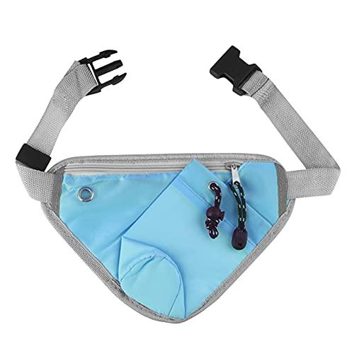 Yebutt Unisex GüRteltasche, Fahrrad Fahrrad Trinkflasche Dreieck GüRteltasche, Mehrfarbige SportgüRteltasche, Hochwertige Modische HüFttasche UmhäNgetasche (Blau)