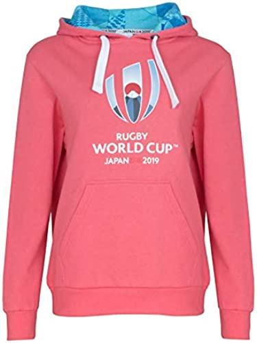 Rugby World Cup 2019 - Sweat à Capuche - Femme Rose Rose