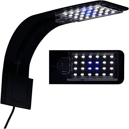 10W Super Slim Aquarium Fish Tank 5730 LED Light Clip-on Lamp Aquatic Plant Lighting