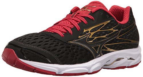 Mizuno Men's Wave Catalyst 2 Running Shoe, Charcoal/Green Flash, 11 D...