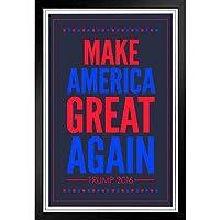 ぶら下げ絵画 - ヨーロッパとアメリカのスタイル壁画 - アメリカを再び偉大にするトランプ2020共和党の大統領選挙愛国心が強い -装飾美術の絵画-33x23cm