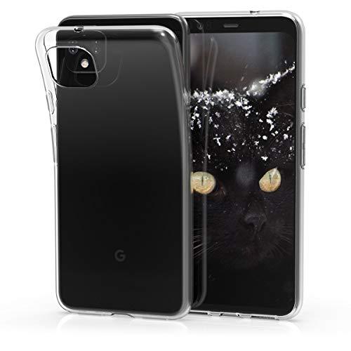 kwmobile Hülle kompatibel mit Google Pixel 4 XL - Silikon Handyhülle transparent - Handy Hülle in Transparent