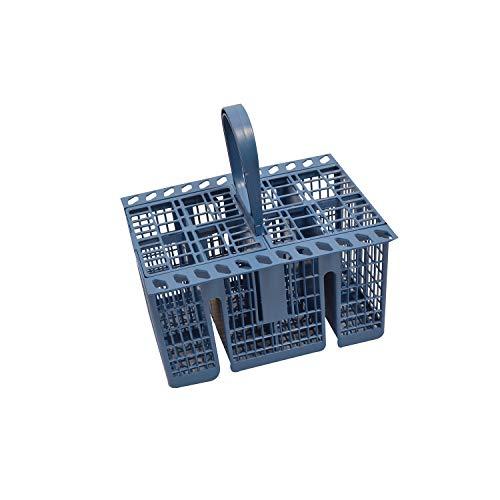 Indesit Besteckkorb für Geschirrspüler, passend für Modelle siehe Bulllet Points, Blau