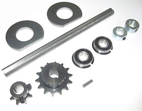 "Go Kart/Minibike Complete Jackshaft Kit 5/8"" X 12"" 40/41/420 Chain."