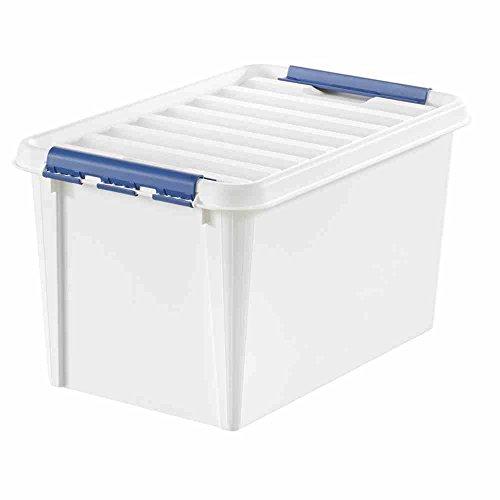 trasparenti Hammarplast 35083903 Clipbox Smart Set da 3 contenitori da 14 litri