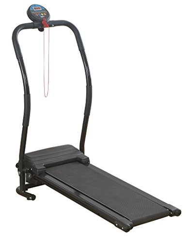 Bodyfit Compact Electric Treadmill Folding Running...