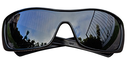 MZM Polarisierte Ersatzgläser für Oakley Antix ( wählen Sie Die Farbe) (Black Iridium)