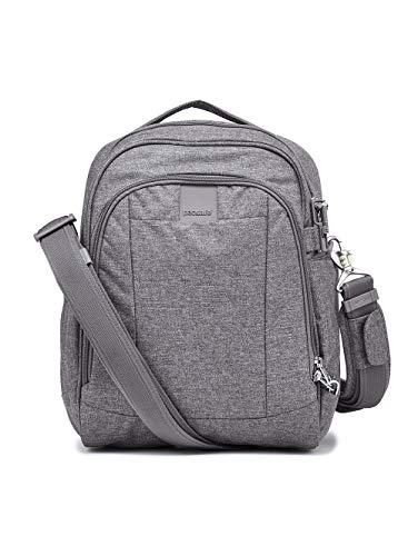 Pacsafe Unisex-Adult Metrosafe Ls250 Dark Tweed Grey Shoulder Bag, 12 Liter