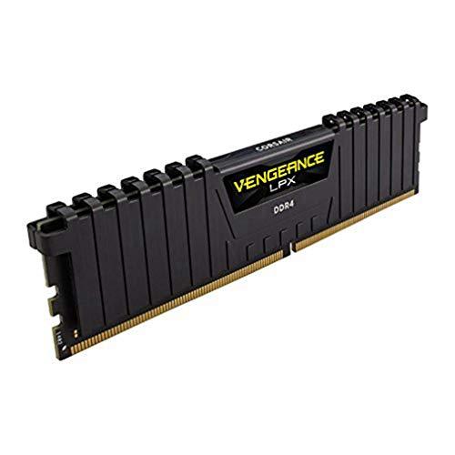 Corsair Vengeance LPX 4GB (1x4GB) DDR4 2400MHz C16 XMP 2.0 High Performance Desktop Arbeitsspeicher, Schwarz