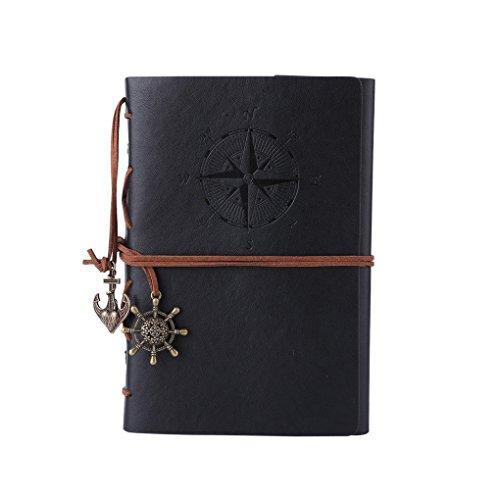 SAYEEC - Tagebücher, Journale & Notizbücher für Kinder in schwarz, Größe A6