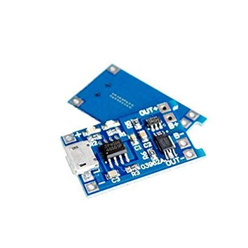 UIOTEC Pool Lithium Protection 3.7v 3.6V 4.2V Battery Charging Board 1A overshoot Over Discharge Protection