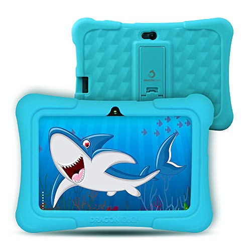 Dragon Touch kindertablet, Y88X Plus kindertablet pad leertablet voor kinderen, Android 8.1 OS 7