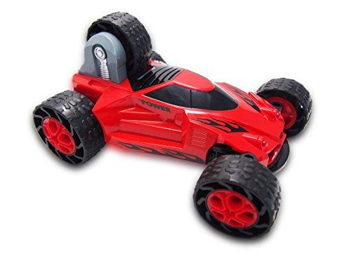 Amewi 22225 – Stunt Car 5 Wheels 1 : 18 4 WD RTR, véhicule, Rouge