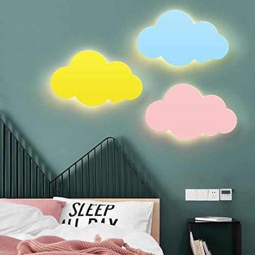 De enige goede kwaliteit Decoratie Kinderkamer Cloud Wandlamp Cartoon Eenvoudige Moderne Led Slaapkamer Woonkamer Wandlamp Leuke Noordse Nachtkastje Beugel Licht