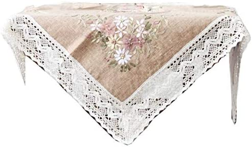 menolana 1 Cross Stitch Kit Printed Stamped Easy Embroidered Tablecloth for Wedding Party Restaurant product image