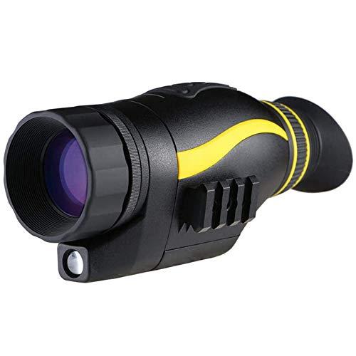 TTWUJIN Ferngläser Thermische Imaggebung Nachtsicht Fernglas,Hd Digital Monokulare Nachts Fotos Hen Video Kamera Teleskope/Schwarz/Quadruple