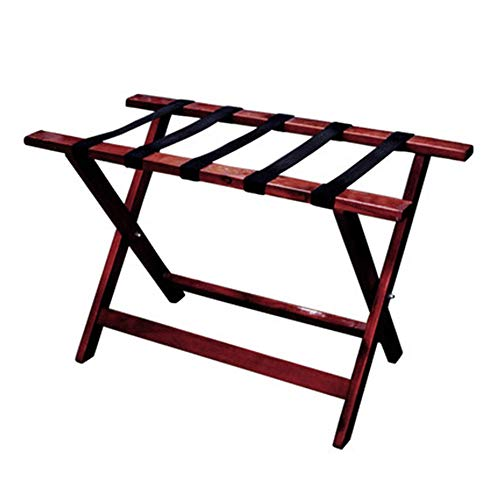 Review YADSHENG Luggage Racks Heavy Solid Wood Folding Multifunctional Floor-Standing Luggage Rack w...