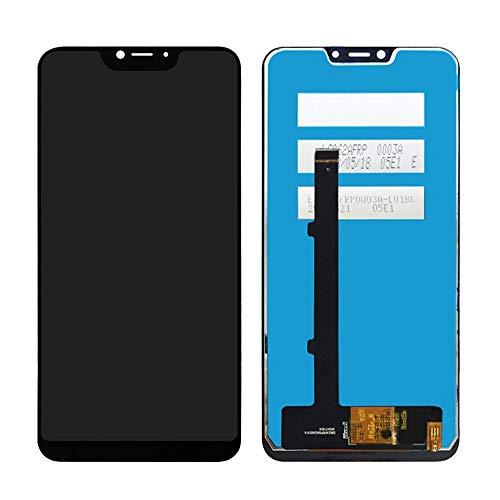 MOVILSTORE Pantalla LCD + Tactil Digitalizador Compatible con Cubot P20 Negro