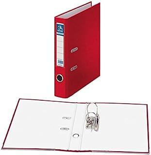 comprar comparacion Dohe Archicolor - Archivador folio lomo estrecho, color rojo