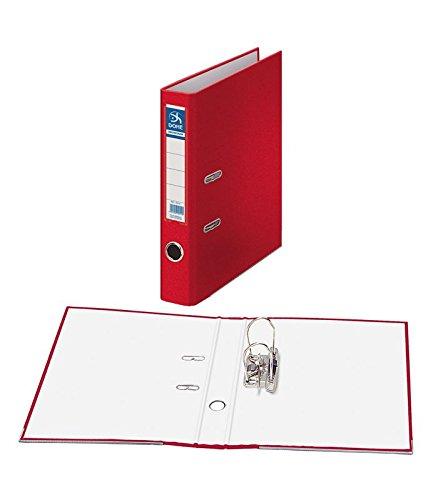 Dohe Archicolor - Archivador folio lomo estrecho, color rojo