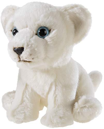 Heunec 237575 MISANIMO Weisser Löwe sitzend 15 cm, weiß