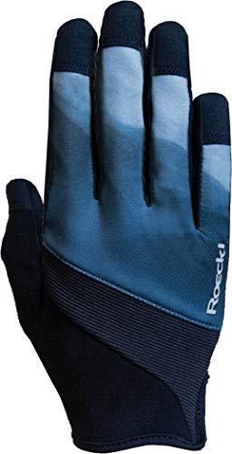Roeckl Maira Youngsters Kinder Fahrrad Handschuhe lang blau/schwarz 2020: Größe: 4