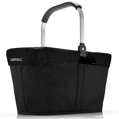 Reisenthel carrybag zwart hengselmand mand mand cover zwart