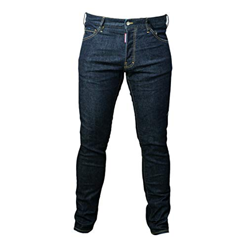 DSQUARED2 D2 Herren COOL Guy Jean Gr. 52 dunkelblau 5 Pocket Jeans