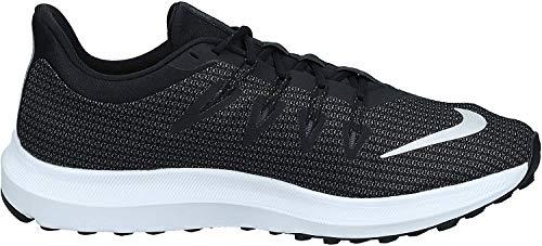Nike Quest, Zapatillas de Running para Hombre, Multicolor (Black/Metallic Silver/Dark Grey 001), 45 EU