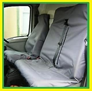 Heavy Duty Van Seat Covers Single Drivers And Double Passengers Seat Covers Blue Camouflage Military 1 Rhinos-Autostyling FOR RENAULT TRAFIC ALL MODELS 2