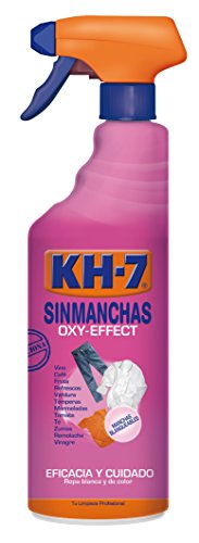 KH-7 Sinmanchas - Quitamanchas Coloreadas Prelavado Pulverizador 750 ml - Pack de 2 (Total 1500 ml)