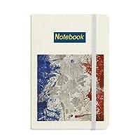 フランスの旗国の都市文化 ノートブッククラシックジャーナル日記A 5