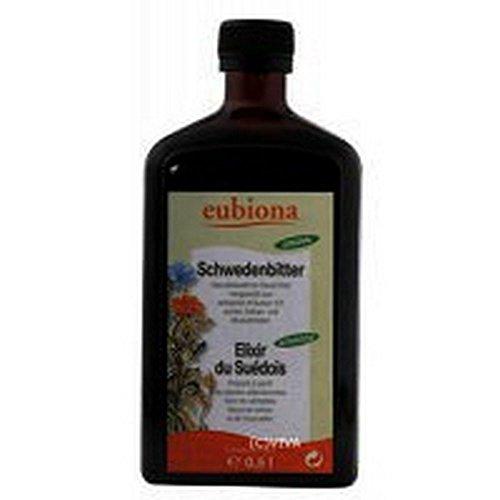 Elixir Du Suédois 30° Eubiona 500ml (enrichie En Fleur De Safran Et De Muscadie