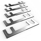 AUPROTEC Sicherungsstreifen Blattsicherung - Blechsicherung 30A - 150A Auswahl: 100A Ampere, 5 Stück -