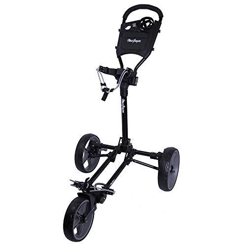 Sale!! MacGregor Golf Flat Fold 3 Wheel Golf Cart - Folds Completely Flat
