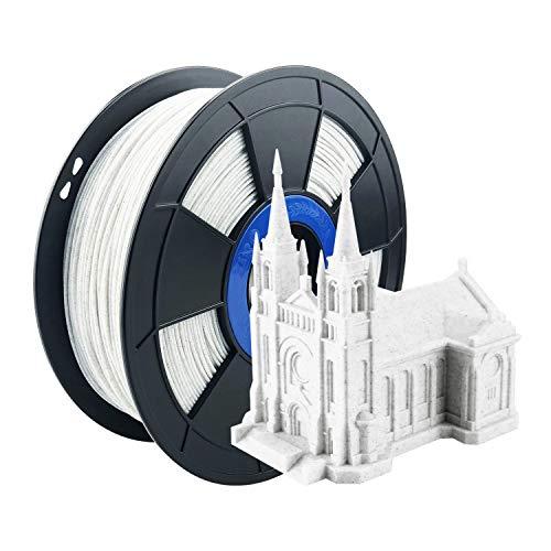 ZIRO PLA Marbie Filament 1.75mm,3D Printer Filament PLA 1.75mm Marble Color 1KG(2.2lbs),Marble