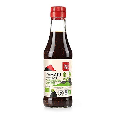 LIMA - Sauce Tamari Coriandre Wasabi 250Ml