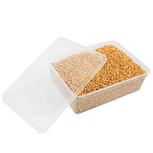 800 g de arroz entero caramelado ideal para decoración de postres, tartas y pasteles.