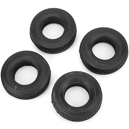 Neumático de Coche Remoto 1/14 RC, excelente Agarre, Larga Vida útil, Antideslizante, protección del Medio Ambiente, neumáticos de Rueda de 25 mm, para Amantes de los Coches de Control