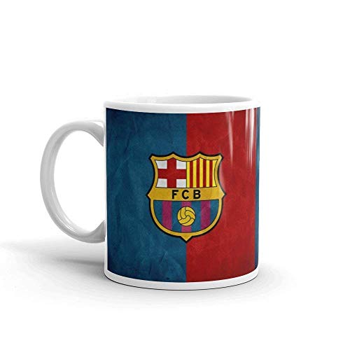 N\A Tasse FC Barcelona Tasse en céramique Blanche pour café,
