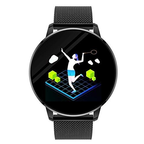 Yanchad Smartwatch OUKITEL W3 Intelligente Uhr Sport Laufen Armband 1,3 Zoll Herzfrequenz-Messgerät Pedometer Fernkamera Blutdruck Blutsauerstoff Sport Armband Mode tragbar