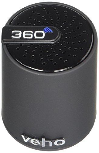 Veho 360 Mini Speaker bluetooth senza fili (10 metri, ricarica via USB o LAN, batteria integrata)