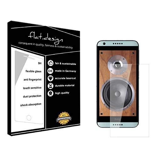 1x Bildschirm Schutz für HTC Desire 650 Screen Bildschirmschutz Schutzfolie kristallklar Flexible Folie, robust wie Glas. Qualität, Nachhaltigkeit und Fairness Made in Germany