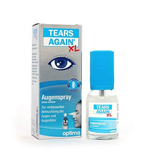 TEARS AGAIN Augenspray XL, zur verbesserten Befeuchtung der Augen und Augenlider, 20 ml Lösung